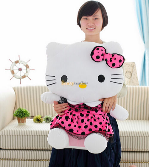 Fancytrader 27\'\' 70cm Giant Plush Stuffed Hello Kitty, 3 Colors Available! Free Shipping FT90157 (1).jpg