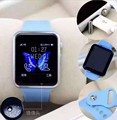 НОВЫЙ А1 W8 Bluetooth Смарт Смотреть Спорт для iphone 4/4s/5/5s/6/6 + IOS для Samsung Note/s6 Android телефон Smartwatch
