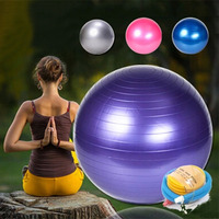Large size Ball 65cm Health Balance Pilates Fitness Gym Home Exercise Sport toy ball