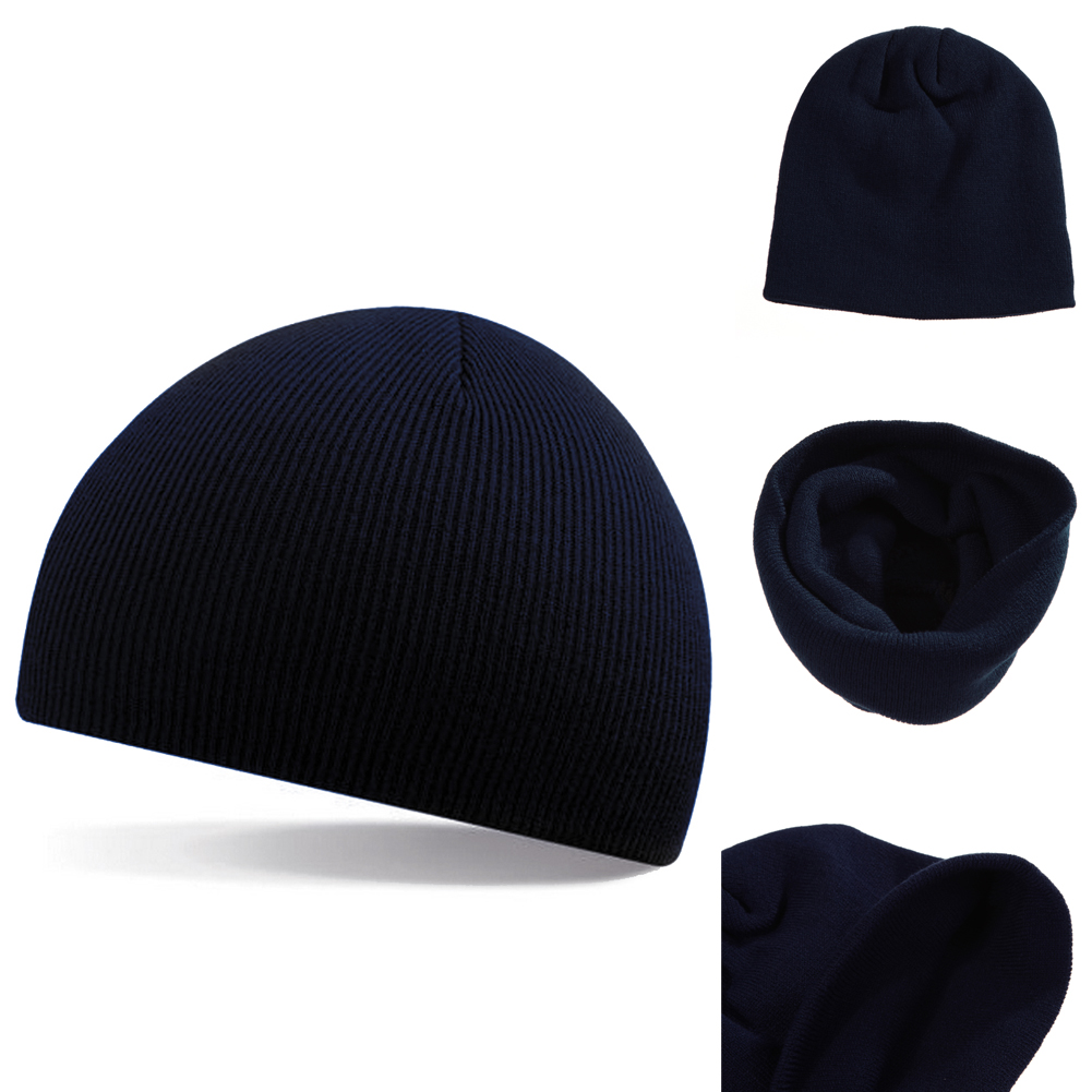 2017 NEW Knitted Beanie Hat Winter Warm Wooly Unisex Top Mens Ladies Skull Cap