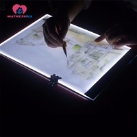 Diamond Painting Accessories Diamond Embroidery Adjustable Ultra Thin A4 LED Light Tablet Pad Diamond Mosaic Cross