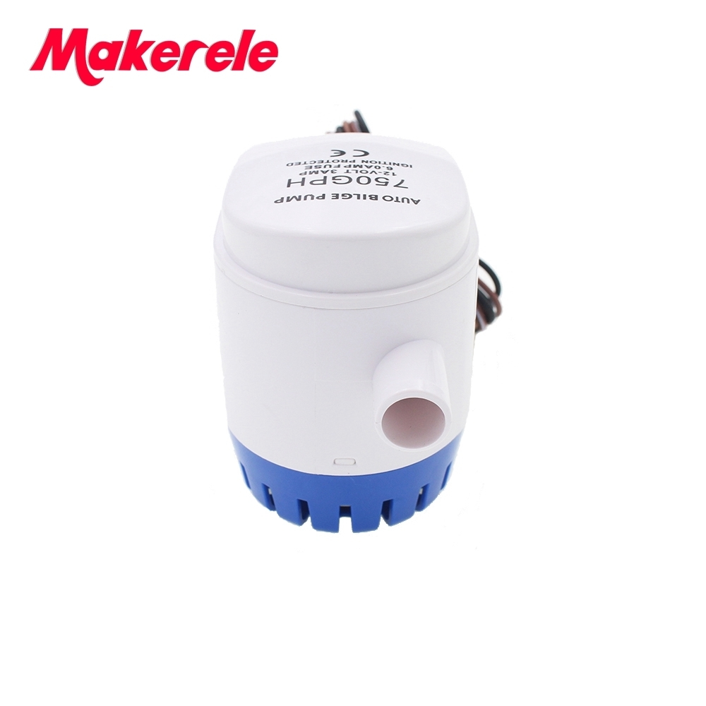 Free Shipping MKBP1 G750 06 750GPH 12v automatic boat bilge pumps for boats rule automatic water pump from china factory in Pumps from Home Improvement