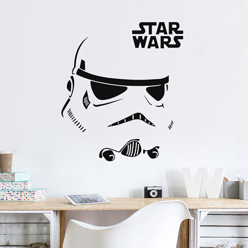 Wall Sticker Quotes Inspire Stormtrooper Star Wars Vinyl Decal Art Home Decor Bedroom Wall Decors Quote For Office Mural LA015