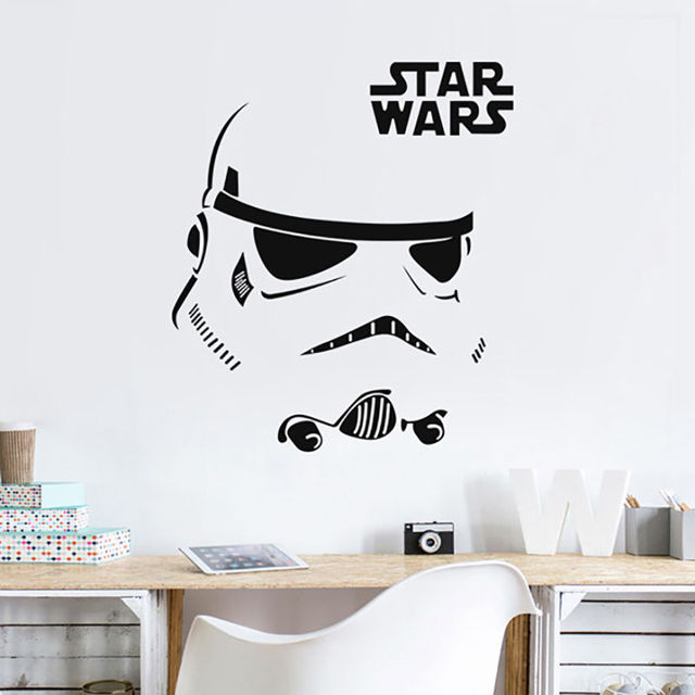 Wall Sticker Quotes Inspire Stormtrooper Star Wars Vinyl Decal Art Home  Decor Bedroom Wall Decors Quote