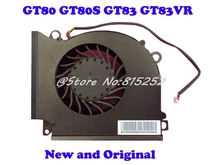 Laptop CPU Cooling Fan & Heatsink For MSI GT80 GT80S GT83 GT83VR 1812 218 VGA-A-B New Original 607 3272 607 3273 dual cpu heatsink a b for 2009 a1289 pro 4 1 pulled mb535
