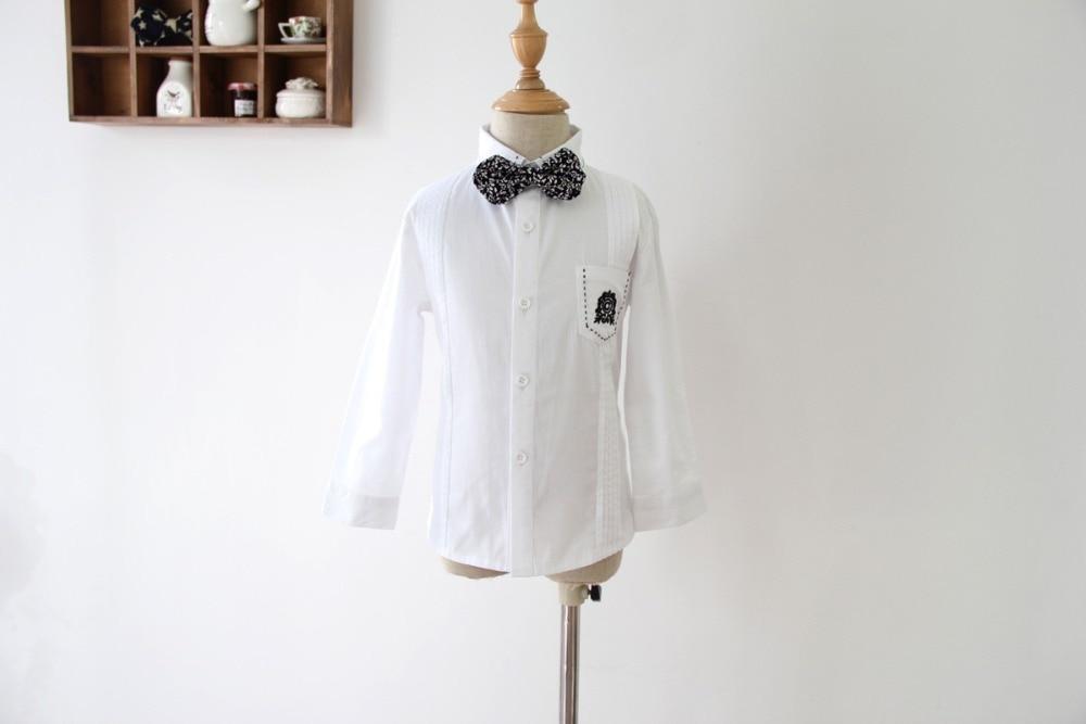 2015 нова детска риза с дълъг ръкав (100% - Детско облекло - Снимка 2
