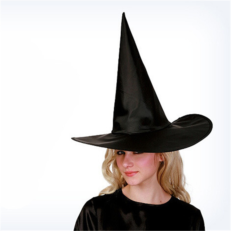 Fun Halloween Party Supplies Witch Hats Halloween Wizard Wizard Caps Party  Toys Cosplay For Adults And Kids-in Party Hats from Home   Garden on ... 8c292a59d70