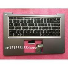 Новый Ноутбук lenovo U400 Серебристая подставка крышка/крышка клавиатуры 31052386 клавиатура