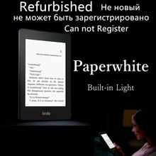 Reformado kindle paperwhite 2 luz incorporada wifi lector de libros electrónicos ebook de tinta electrónica táctil retroiluminada 2 gb cubierta de libros de tinta electrónica