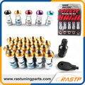 RASTP-20 Unidades/pacote Conjunto Porca Da Roda Lug Porca M12x1.5 Volk RAIOS Formula Racing ou M12x1.25 L = 45mm LS-LN001