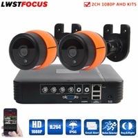 LWSTFOCUS 4CH 1080N HDMI DVR 3000TVL 1080P HD Outdoor Surveillance Security Camera System 4 Channel CCTV