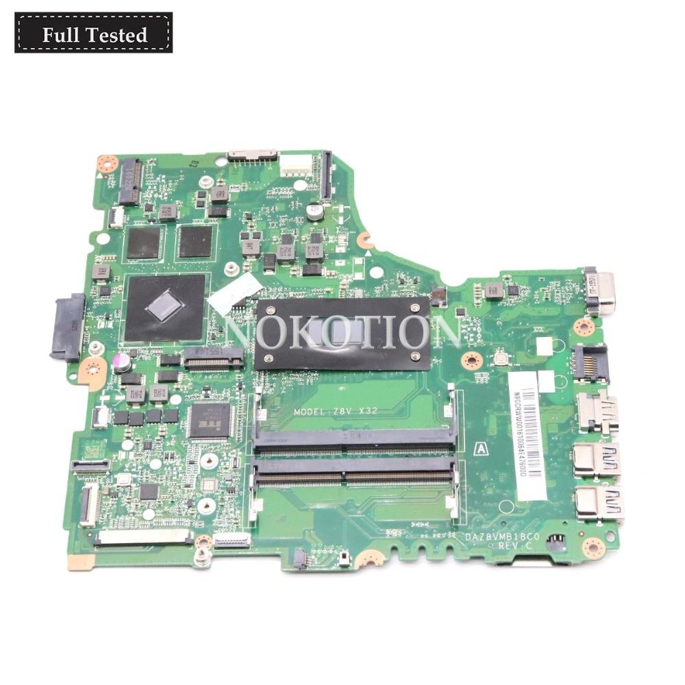 NOKOTION DAZ8VMB18C0 N9GCRWW001 N9 GCRWW 001 Main board for font b Acer b font aspire E5
