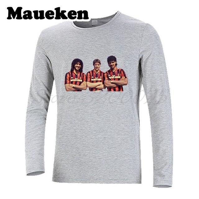 Camiseta AC Milan Legend #9 Marco van Basten Ruud Gullit rijkaard ...