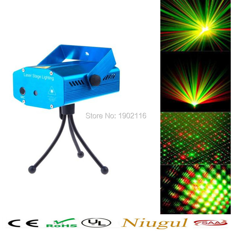 Free shipping Mini LED Laser Pointer Disco Stage Light Party Pattern Lighting Projector Show RG Laser Projector Lights rg mini 3 lens 24 patterns led laser projector stage lighting effect 3w blue for dj disco party club laser