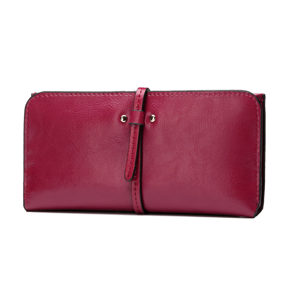 Multifunction Women Purse Vintage Long Genuine Leather Wallet Soft Clutch Bag Handy Card Pouch with Photo Frame for samsung galaxy note n7000 i9220 lcd display with touch screen digitizer frame assembly by free shipping white