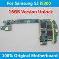 Versión europa placa base para samsung galaxy s3 i9300 16 gb 100% buen trabajo gt-i9300 cardenal placa placa base placa lógica