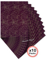 Wine Gold Sego Headtie African Head Scarf gele wrapper 10 packs per Lot 20 pieces total ship by DHL 503 high quality