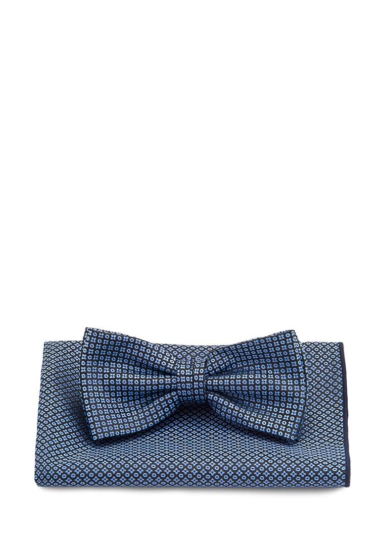 Фото - [Available from 10.11] Bow tie men's handkerchief CARPENTER carpenter poly 2 Golub 710 1 112 blue [available from 10 11] bow tie male carpenter carpenter poly 6 blue 512 1 15 blue