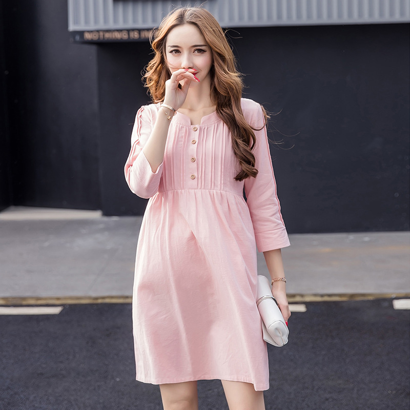 Summer Maternity Clothes Nursing Dress For Pregnant Woman Cotton Breastfeeding Clothes Maternity Nursing Dress H138 breastfeeding nursing cover lactating towel breastfeeding cloth used jacket scarf generous soft good quality maternity clothes