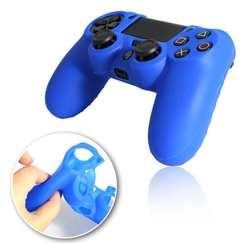 Fornorm Silicone Protective Skin Cover Case for Sony Playstation PS4 Play Station PS 4 Dualshock 4 Game Gamepad Joystick magnetic attraction bluetooth earphone headset waterproof sports 4.2