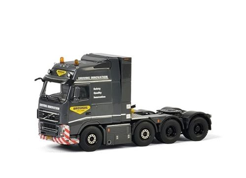 WSI 1:50 VOLVO FH3 Globetrotter XXL 8*2 Tag Axis Truck Tractor Trailer Diecast Toy Model For Collection,Decoration,Gift