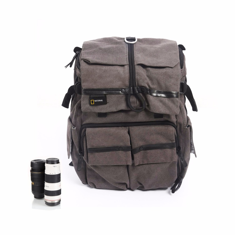 High Quality Camera Bag NATIONAL GEOGRAPHIC NG W5070 Genuine Outdoor Travel Multi-functional Digital DSLR Camera Bag Backpack рюкзак national geographic ng w5070