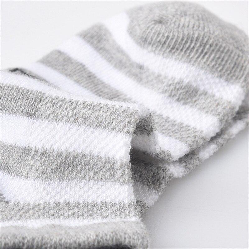 5 Pair=10PCS/lot Baby Socks Neonatal Spring Summer Mesh Cotton Plain Stripes Kids Girls Boys Children Socks For 4-12 Year 6