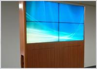 2x2 LCD Video Wall