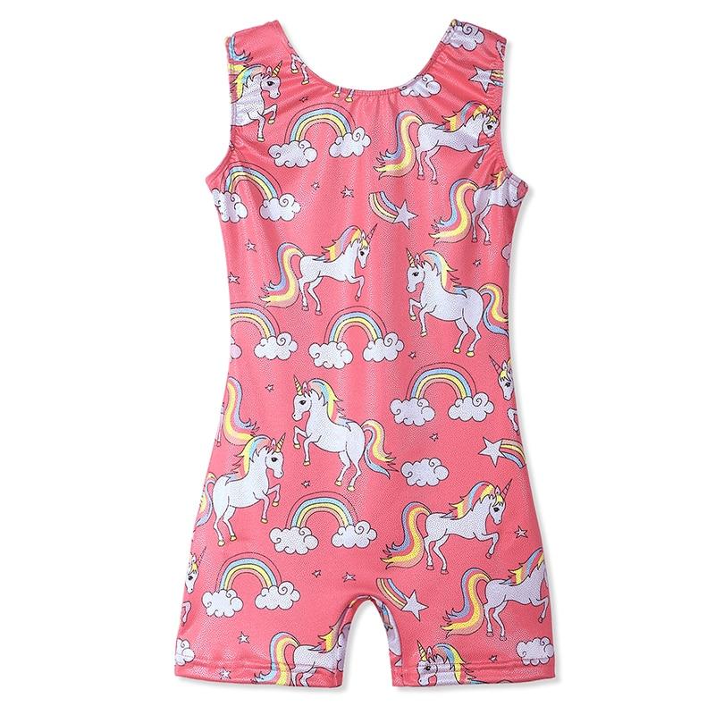 فتاة بلا أكمام الجمباز ثياب طفل لطيف - منتجات جديدة