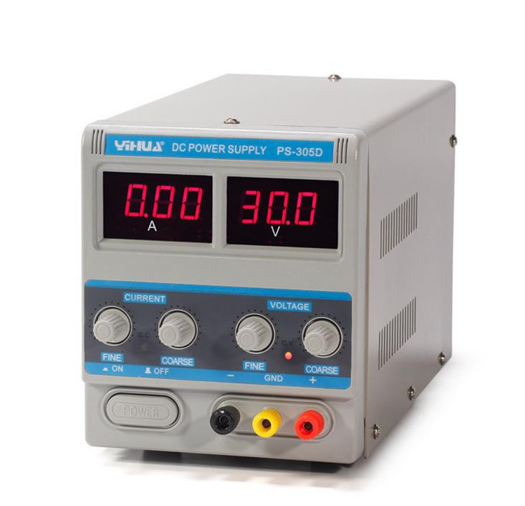 YIHUA 305D 220V DC Power Supply Precision Lab Variable 30V 5A Adjustable RegulatorYIHUA 305D 220V DC Power Supply Precision Lab Variable 30V 5A Adjustable Regulator