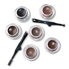6 Colors Durable Eyebrow Pomade Gel No Shading Waterproof  Makeup Accessories Cream Enhancer Cosmetic