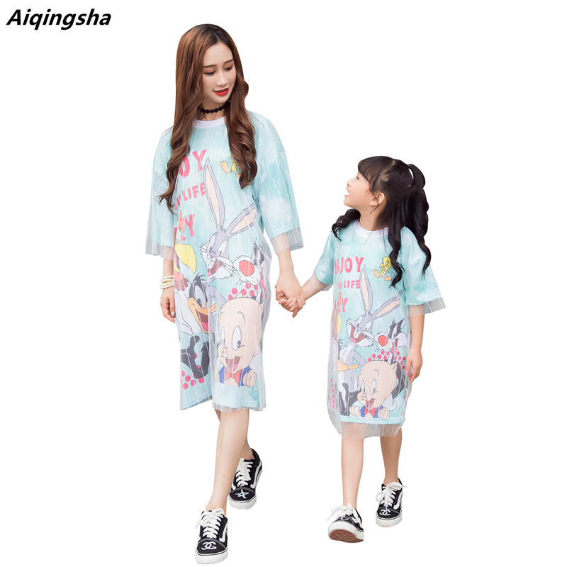 Mother Daughter Dresses Mommy And Me Clothes Family Matching Outfits Pajama Mama Best Friends Big Little Sisters Mathing Clothes