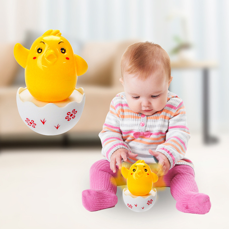 Baby Toys Funny Tumbler Chick Classic Toy Eggs Tumbler Baby Learning Educational Toys Kids Gifts Child Montessori Teaching