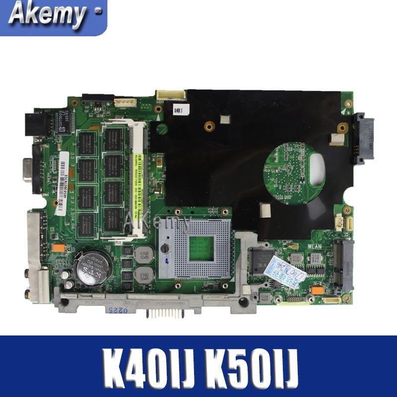 Amazoon  K40IJ Laptop motherboard for ASUS K40IJ K50IJ K60IJ X5DIJ K40AB K50AB K40 K50 Test original mainboardAmazoon  K40IJ Laptop motherboard for ASUS K40IJ K50IJ K60IJ X5DIJ K40AB K50AB K40 K50 Test original mainboard