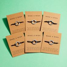 Rinhoo 1 шт., 9,5*7 см, простой круглый браслет с гравировкой букв, кулон для женщин и мужчин, подарок, модные ювелирные изделия
