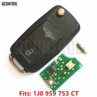QCONTROL Auto Fernbedienung Schlüssel DIY für SEAT AROSA/CORDOBA/IBIZA/LEON/TOLEDO/VARIO 1J0959753CT/ HLO 1J0 959 753 CT