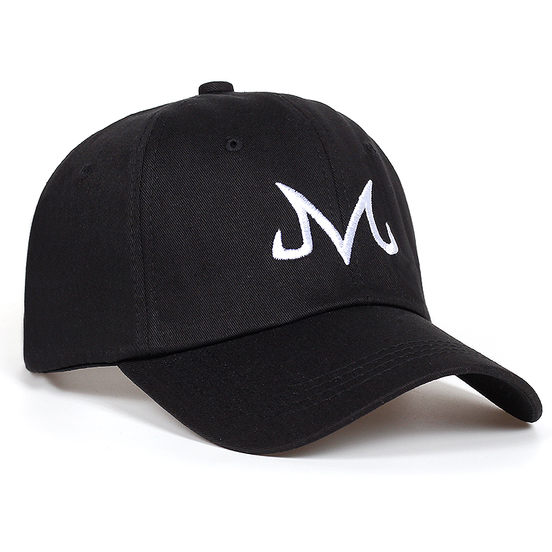 2018 new High Quality Brand Majin Buu Snapback Cap Cotton Baseball Cap For Men Women Hip