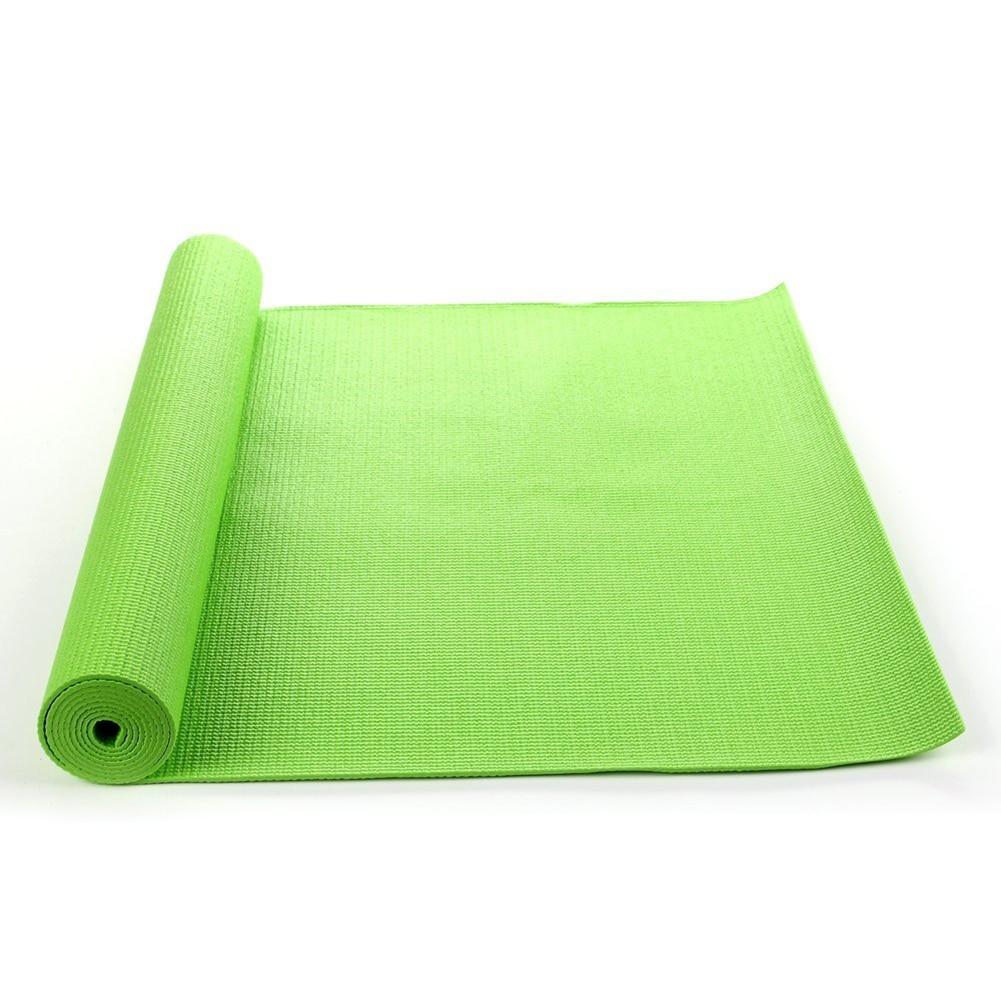"6mm Thick Exercise Yoga Mat 68x24"" Non Slip Pad Pilates"