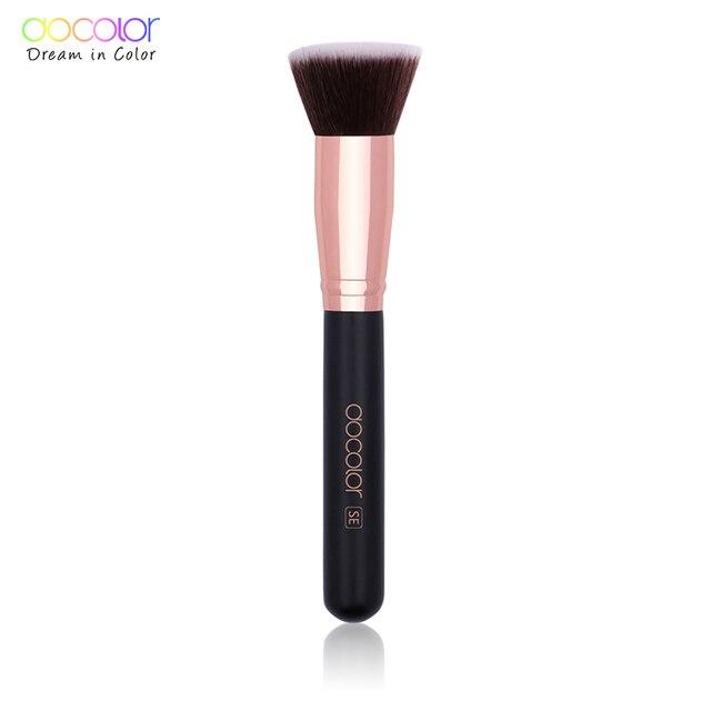 Docolor 1PC Flat Foundation Brush Flat Top Buffing Kabuki Brush Face Makeup Brush Powder Foundation Blush Bronzer Cosmetics Tool 1