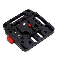 New V Lock Assembly QR Plate for Ursa Mini Sony FS7 FS5 DJI Ronin M MX DOM668