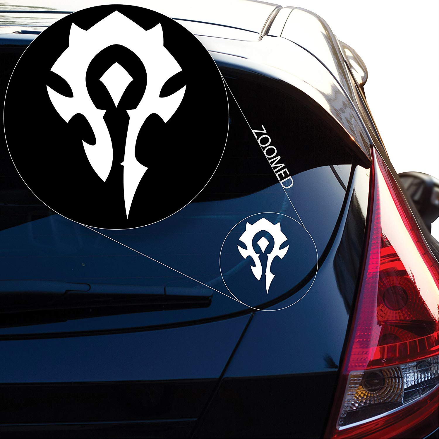 Yoonek Graphics World of Warcraft Decal Sticker for Car Window, Laptop and More. # 800 (4
