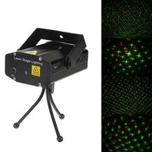 Discount! New Arrival Black Mini Lazer Pointer Projector Light DJ Disco Laser Stage Lighting For Xmas Party Show Club Bar Pub Wedding
