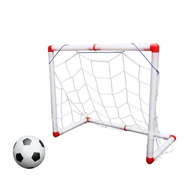 תוספת משחקי ילדים חיצוני דלת שער כדורגל מיני כדורגל פלסטיק קריקטורה פנאי TW-82