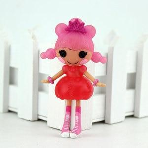 Image 5 - הגעה חדשה מיני 3 אינץ המקורי MGA Lalaloopsy בובות מיני בובות לילדה של צעצוע תיאטרון כל ייחודי