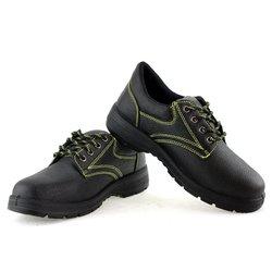 AC11004 mężczyźni pracy robocze obuwie ochronne przemysłowe PU oddychająca siatka anty przebicie okrągłe Toe ze stali Toe buty ochronne w Buty ochronne od Bezpieczeństwo i ochrona na