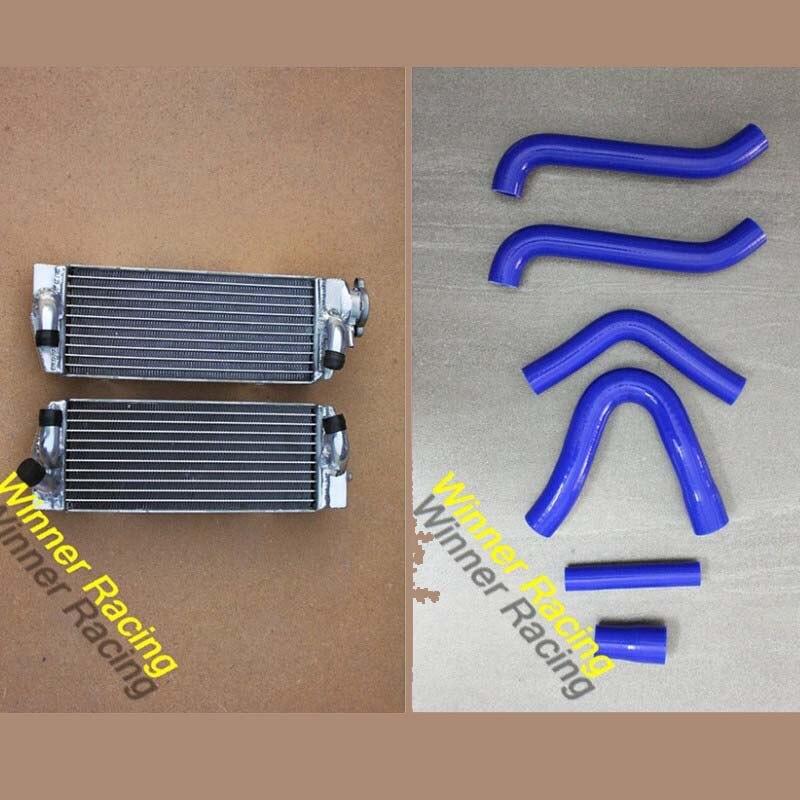 Алюминиевый радиатор и силиконовый шланг для KTM 250/300/380 SX/EXC/MXC 98-03 1999 01 2000 02