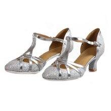 Latin Dance Shoes For Women Zapatos Salsa Mujer Ballroom Zapatos De Baile Latino Mujer 511 Free Shipping