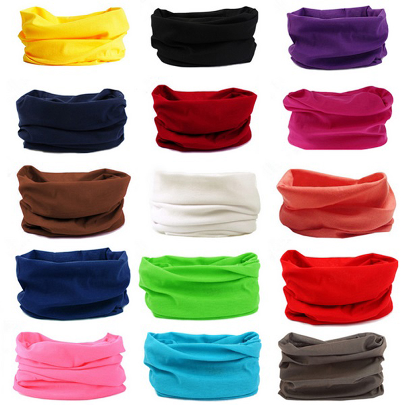 Magic Polyester Bandana Hot Sale   Headwear   Seamless Tubular hijab Neck Tube Sports Scarf Mask Headband Motorcycle Kerchief
