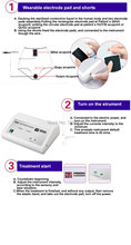 Electric prostate massager  with China non-invasive acupuncture and mutlti-frequency treatment