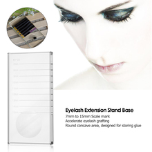 37a2d17be3f 1pc Eyelash Extension Stand Base False Lashes Grafting Holder False Eyelash  Pallet Tray Eye Makeup Tool